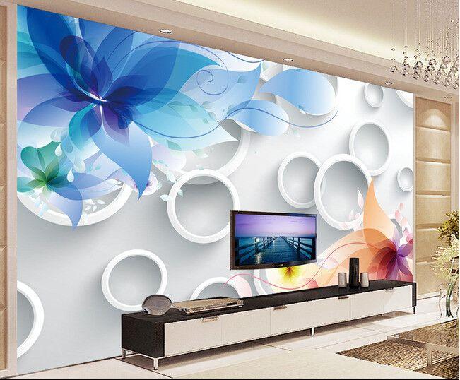 نتيجة بحث الصور عن ورق جدران ثلاثي الابعاد ايكيا Color Flat Screen Furniture