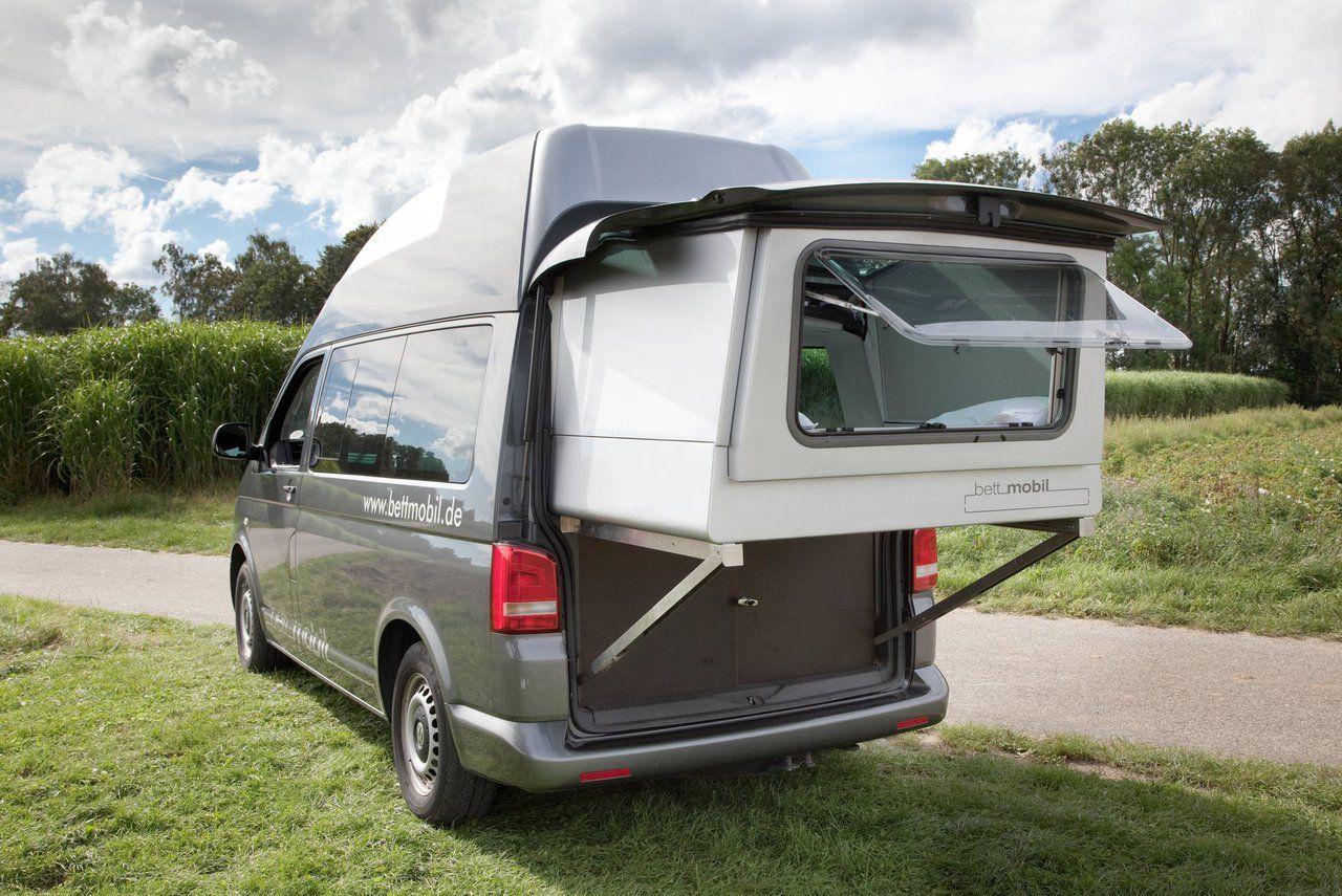 bettmobil slideout bed box vw t5 hochdach camper bus. Black Bedroom Furniture Sets. Home Design Ideas