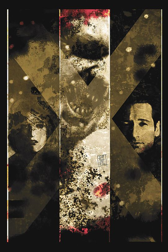 The X-Files/30 Days of Night #5    Art by: Andrea Sorrentino