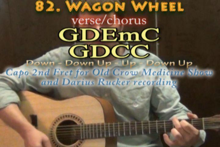 Wagon Wheel Strum Pattern