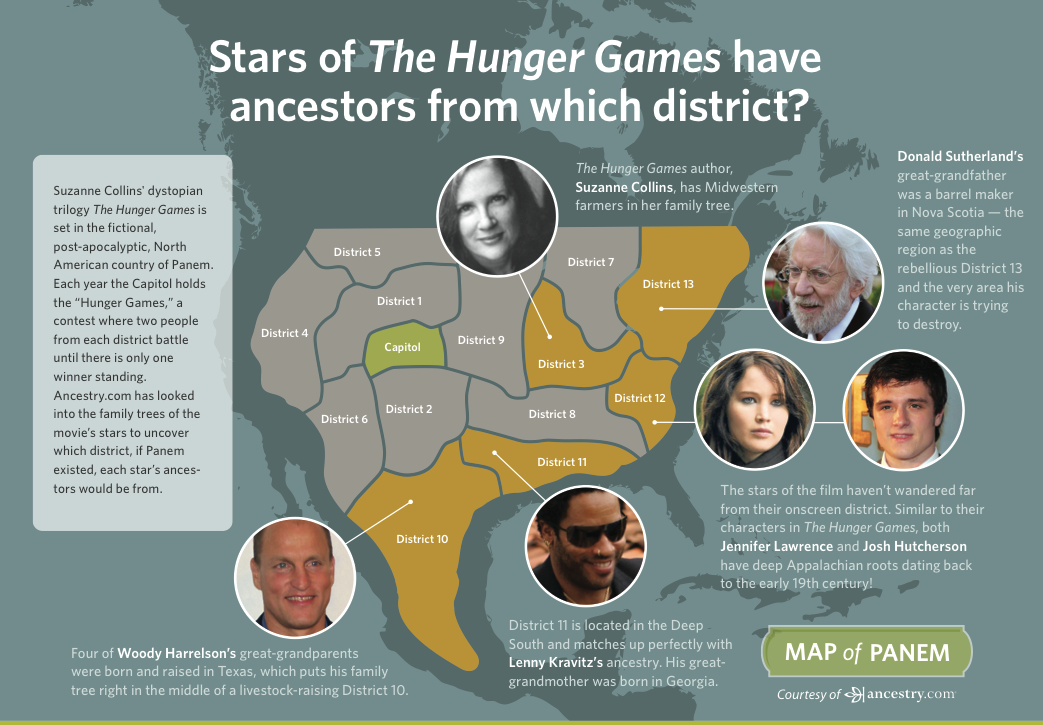 We Mapped Out The Districts In The Hunger Games Movie As If Panem - Hunger games us map