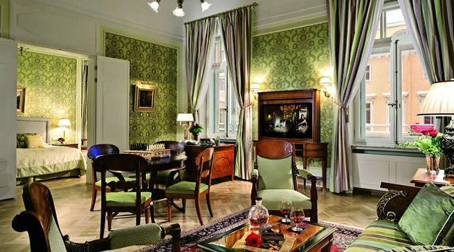 Un hotel para los amantes del Vodka en San Petersburgo