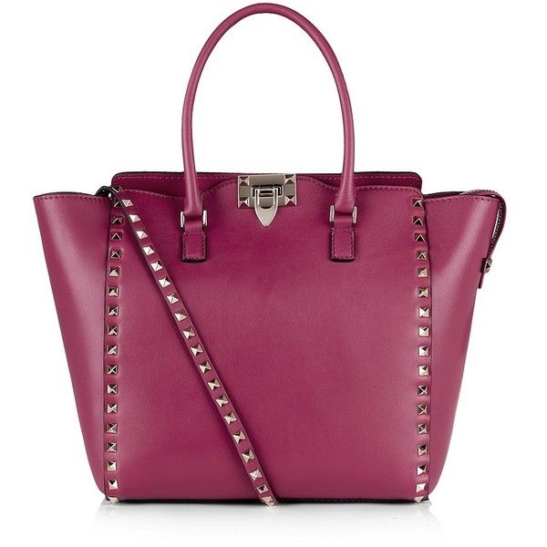 Valentino Rockstud Double Handle Shopper (With images) - Valentino bags, Women handbags, Purses - 웹