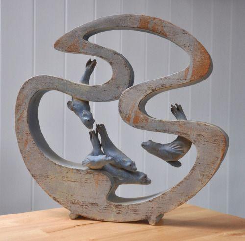 Claire Edkins - Painting & Sculpture, Buryas Bridge, Penzance