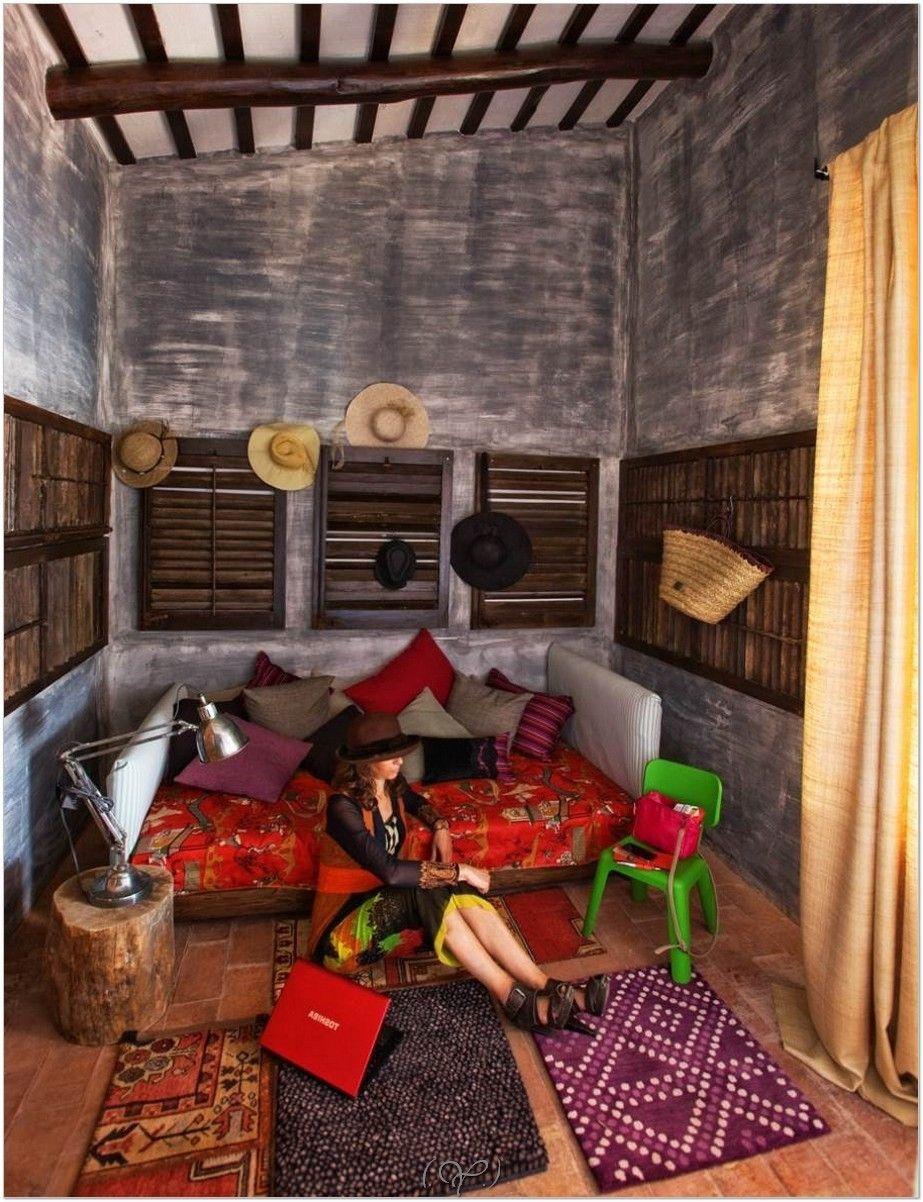 hippie living room stunning bedroom   chic decor