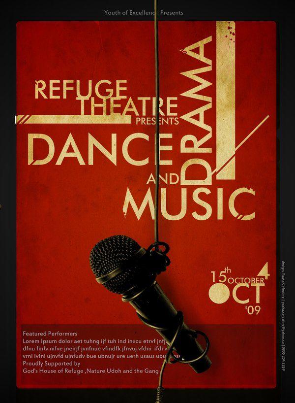 Theater Poster Design Inspiration Creativeoverflow