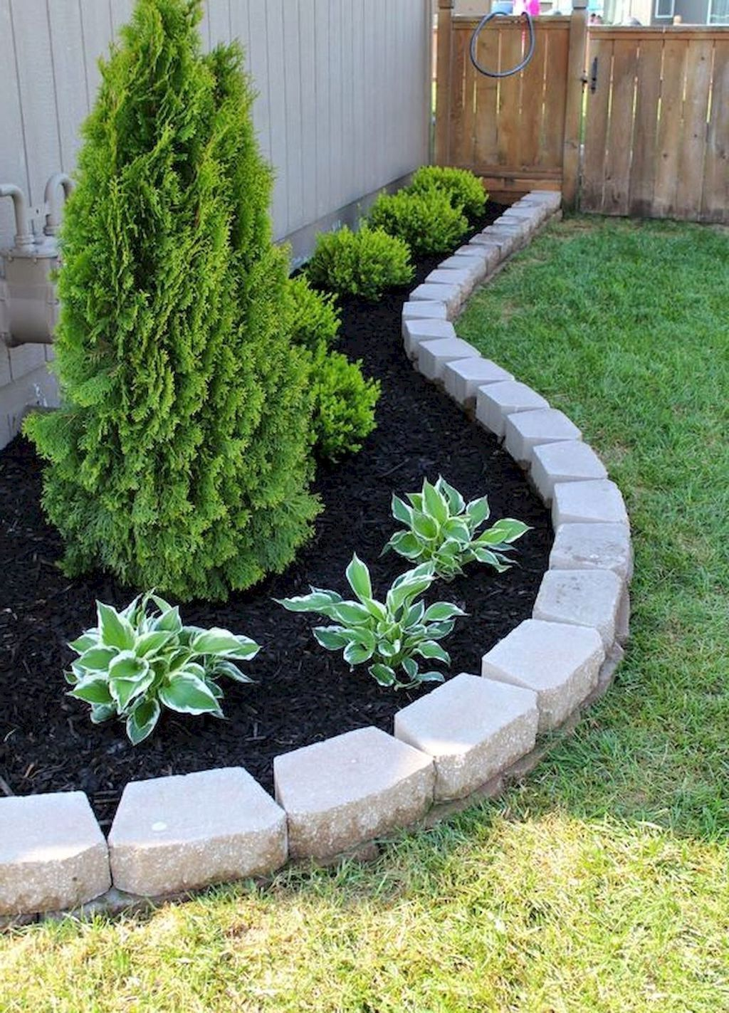 40 Modern Front Yard Landscaping Ideas On A Budget 36 Best Home Design Ideas Front House Landscaping Diy Landscaping Front Garden Landscape