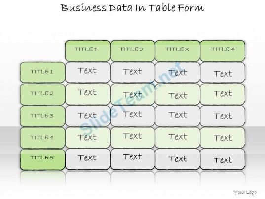 1013 business ppt diagram business data in table form powerpoint 1013 business ppt diagram business data in table form powerpoint template powerpoint templates ccuart Image collections