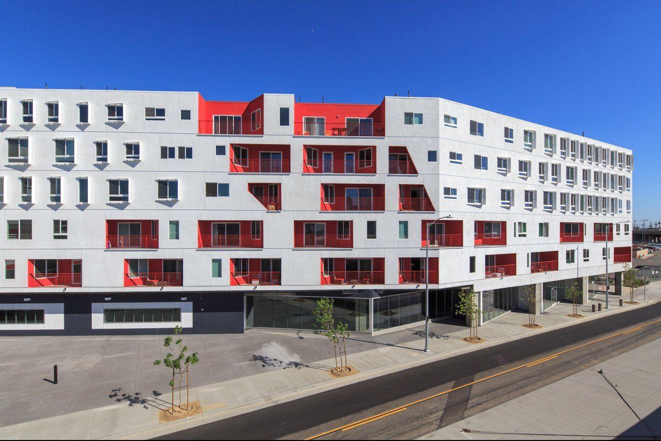 One Santa Fe Michael Maltzan Santa Fe Facade Multifamily Housing