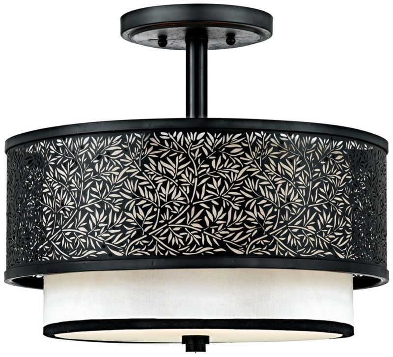 Utopia cream shade 13 inch h quoizel ceiling light fixture utopia cream shade 13 inch h quoizel ceiling light fixture aloadofball Gallery