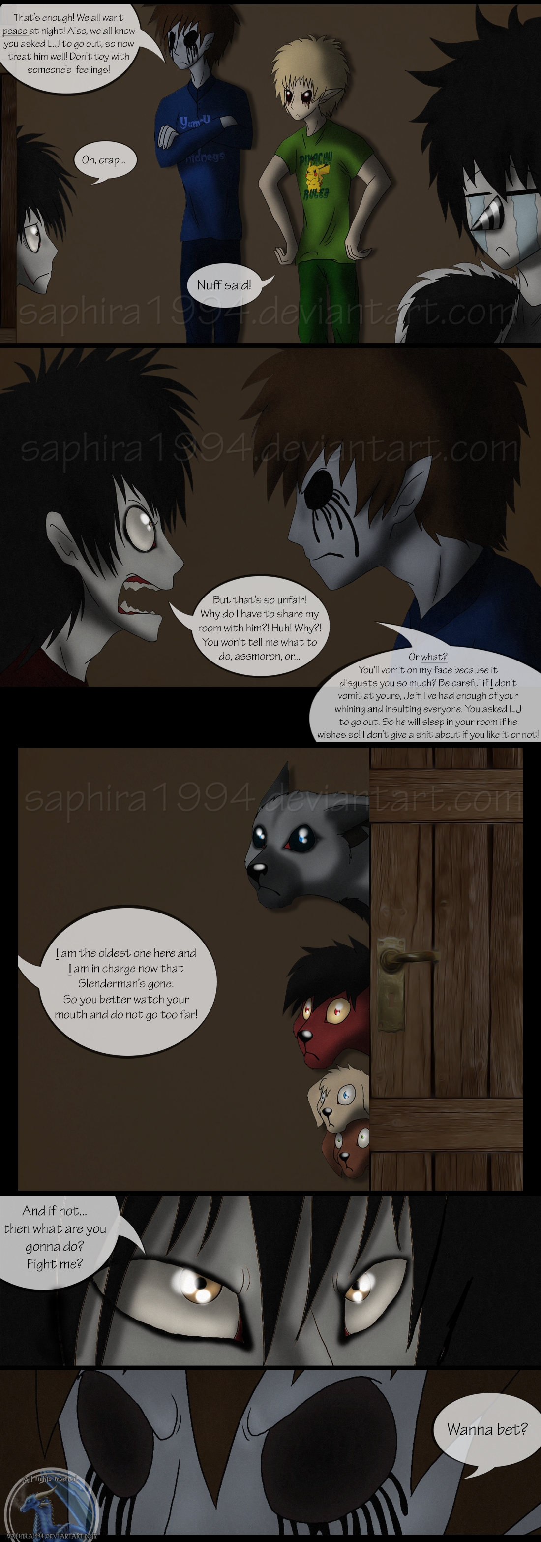Adventures With Jeff The Killer - PAGE 48 by ...
