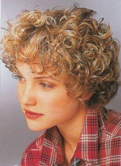 Permed Hairstyles Short Hair Short Curly Haircuts Short