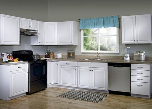 Value Choice 24 Ontario White 3 Drawer Base Cabinet At Menards Kitchen Cabinet Styles Unfinished Kitchen Cabinets Beautiful Kitchen Cabinets