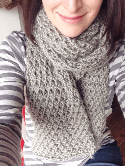 All Knitted Up: Snowflake Scarf from Purl Soho (With ...