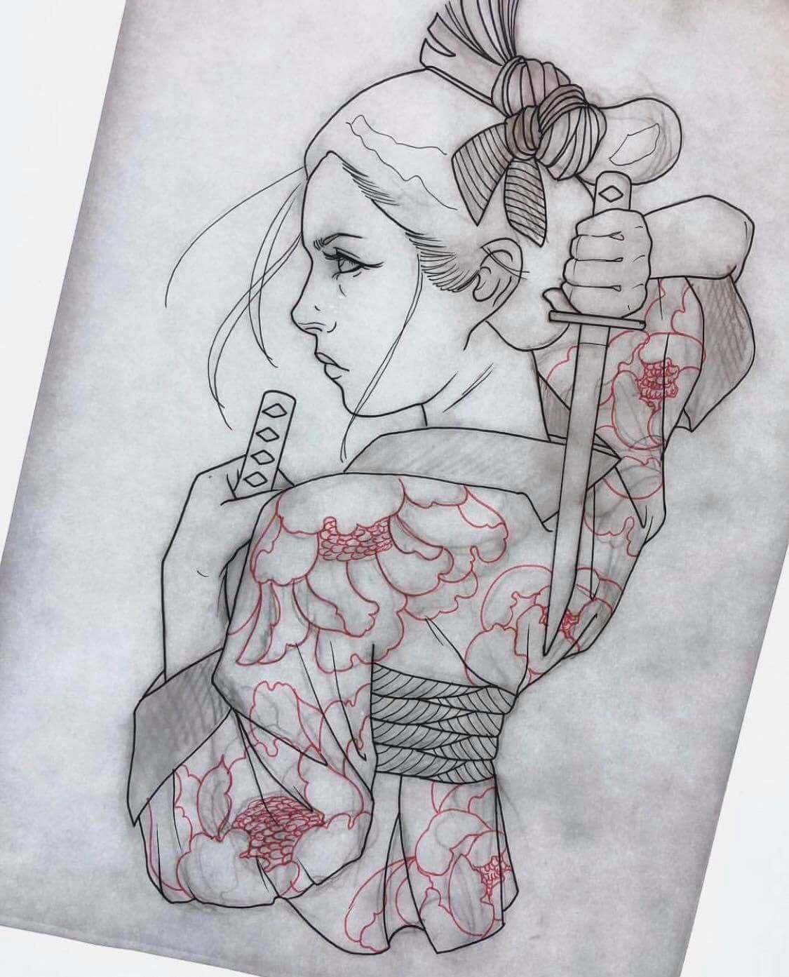 I Unquestionably Adore The Tones Outlines And Detail This Is A Wonderful Artwork If You Want A Ja Tatuajes Japoneses Diseno Tatuaje Geisha Bocetos Tatuajes