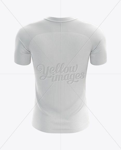 Download Men S Soccer Jersey Mockup Back View Clothing Mockup Team Jersey Soccer Team