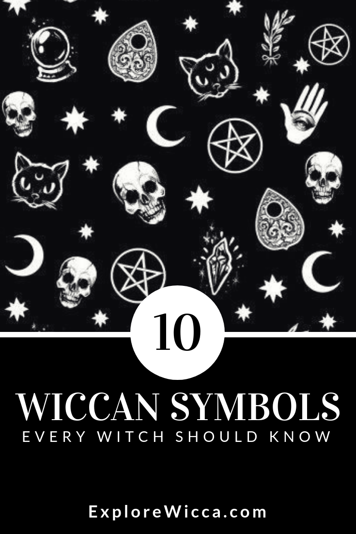 Discover the #wiccan symbols that every #witch should know
