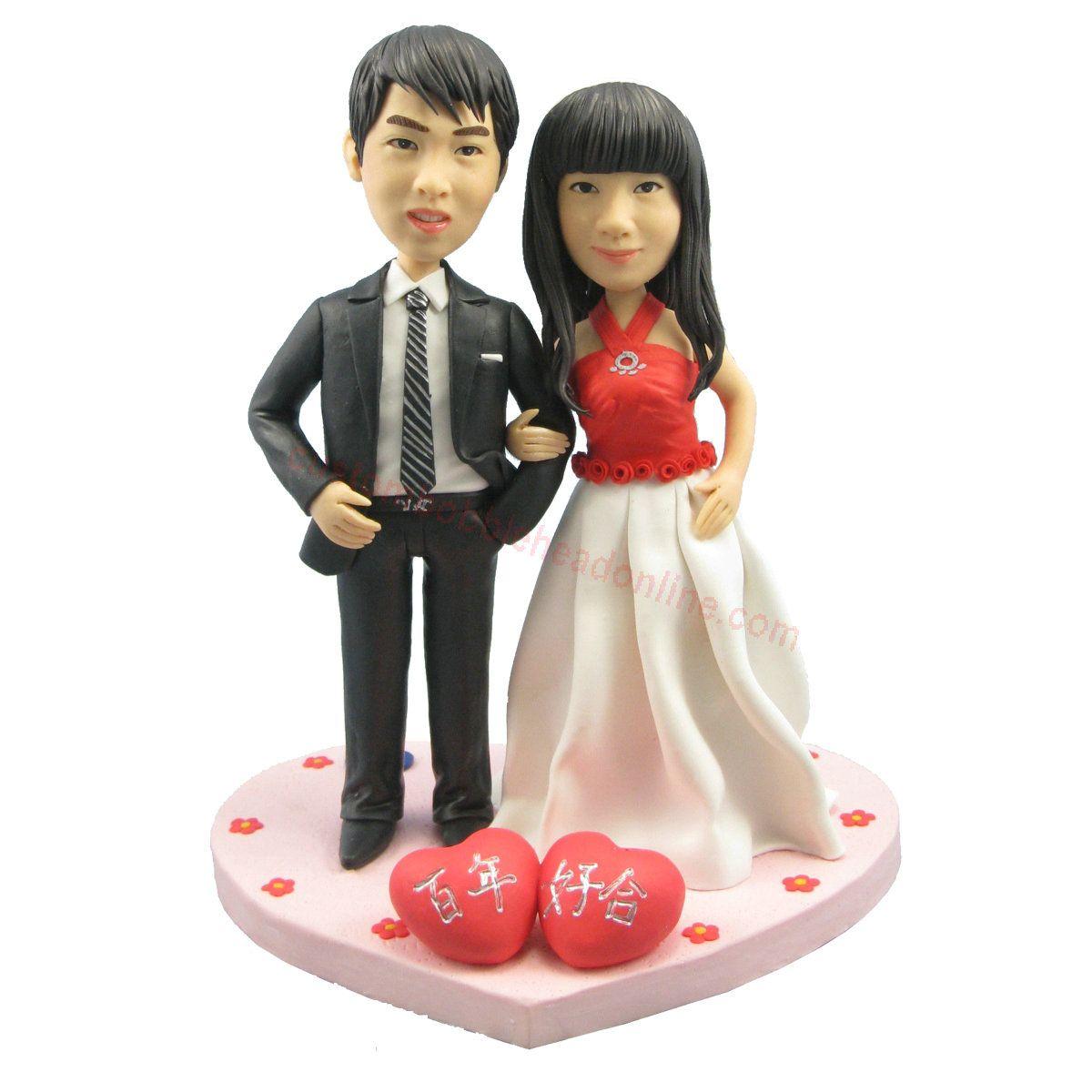 shop custom wedding bobbleheads - make your own bobble head ...