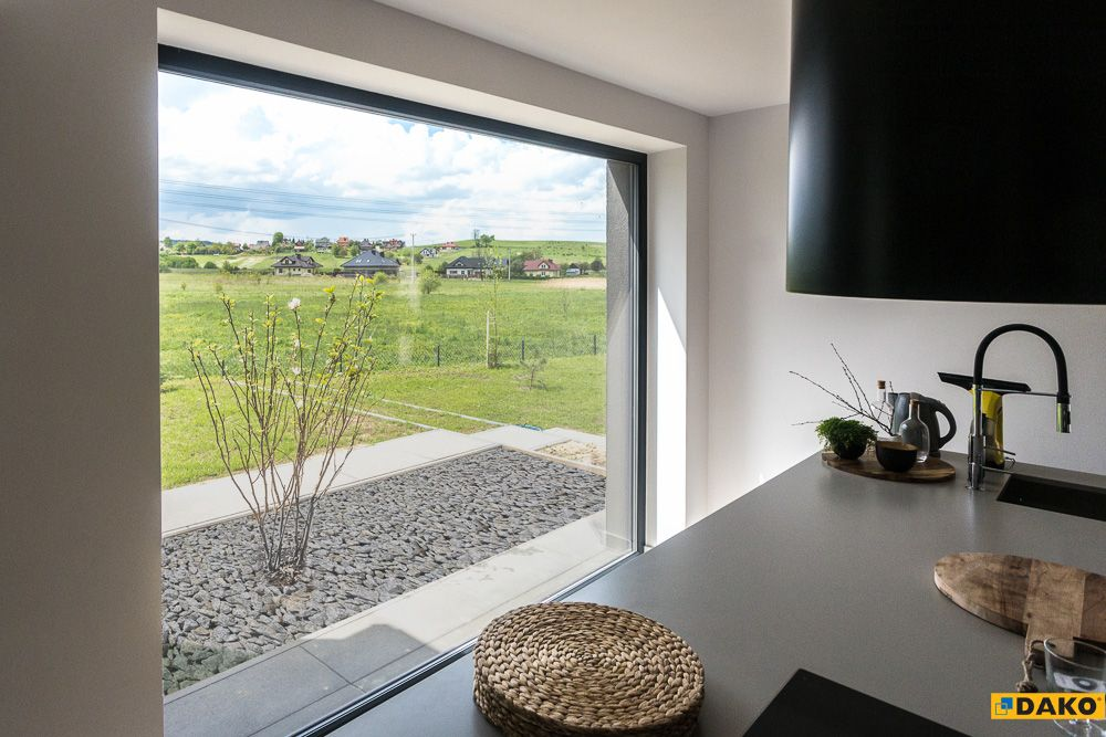 Stale Szklenia Doskonale Spisuja Sie Takze Kuchni Kitchen Inspirations Inspiration Windows