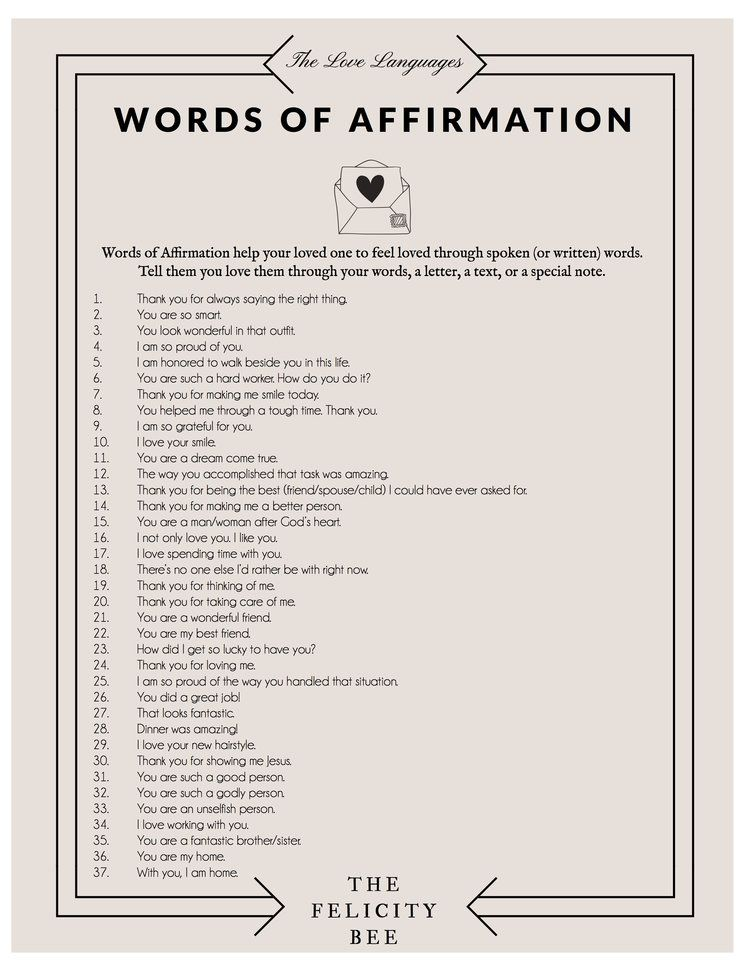 Download Your Free Ebook At The End Of This Post Words Of Affirmation Five Love Languages Love Languages