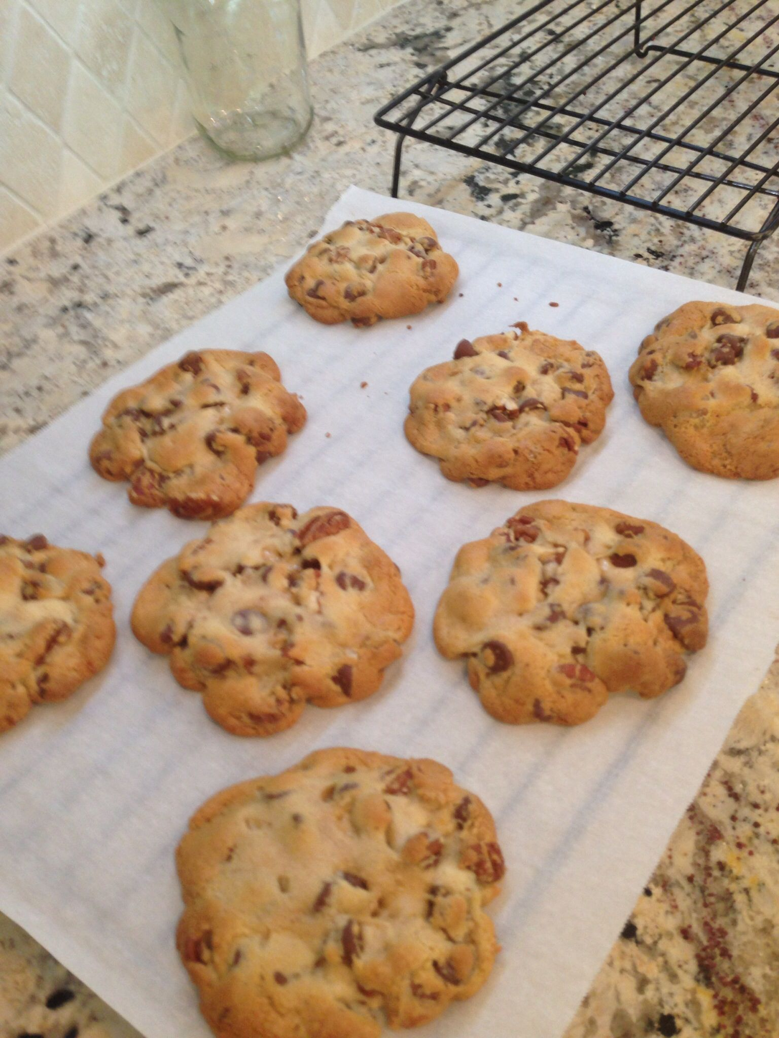 Rose's inimitable chocolate chip cookies