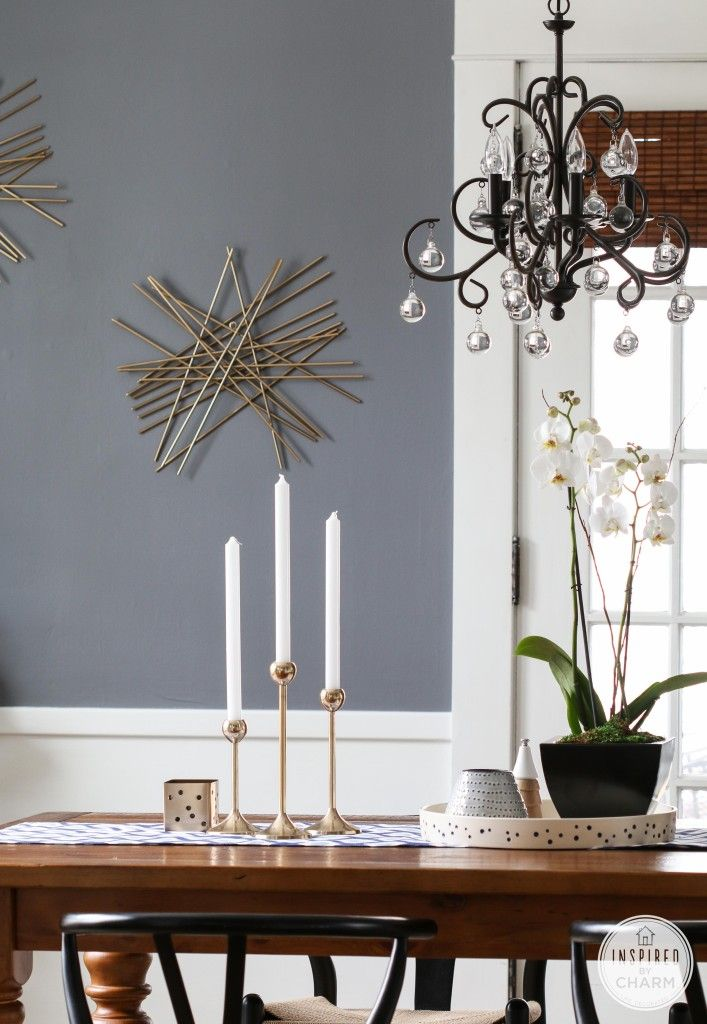 Nate Berkus in My Dining Room | Inspired by charm DIor Gray - Benjamin Moore for AG Family Office