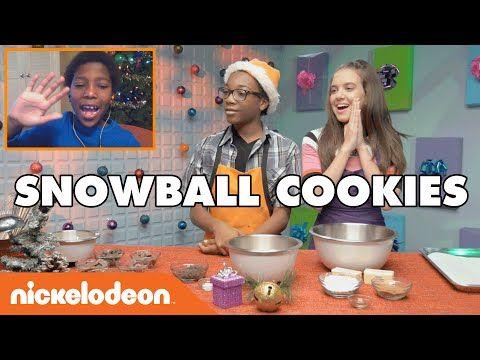 Snowball Cookies w/ Noah | Nick - YouTube