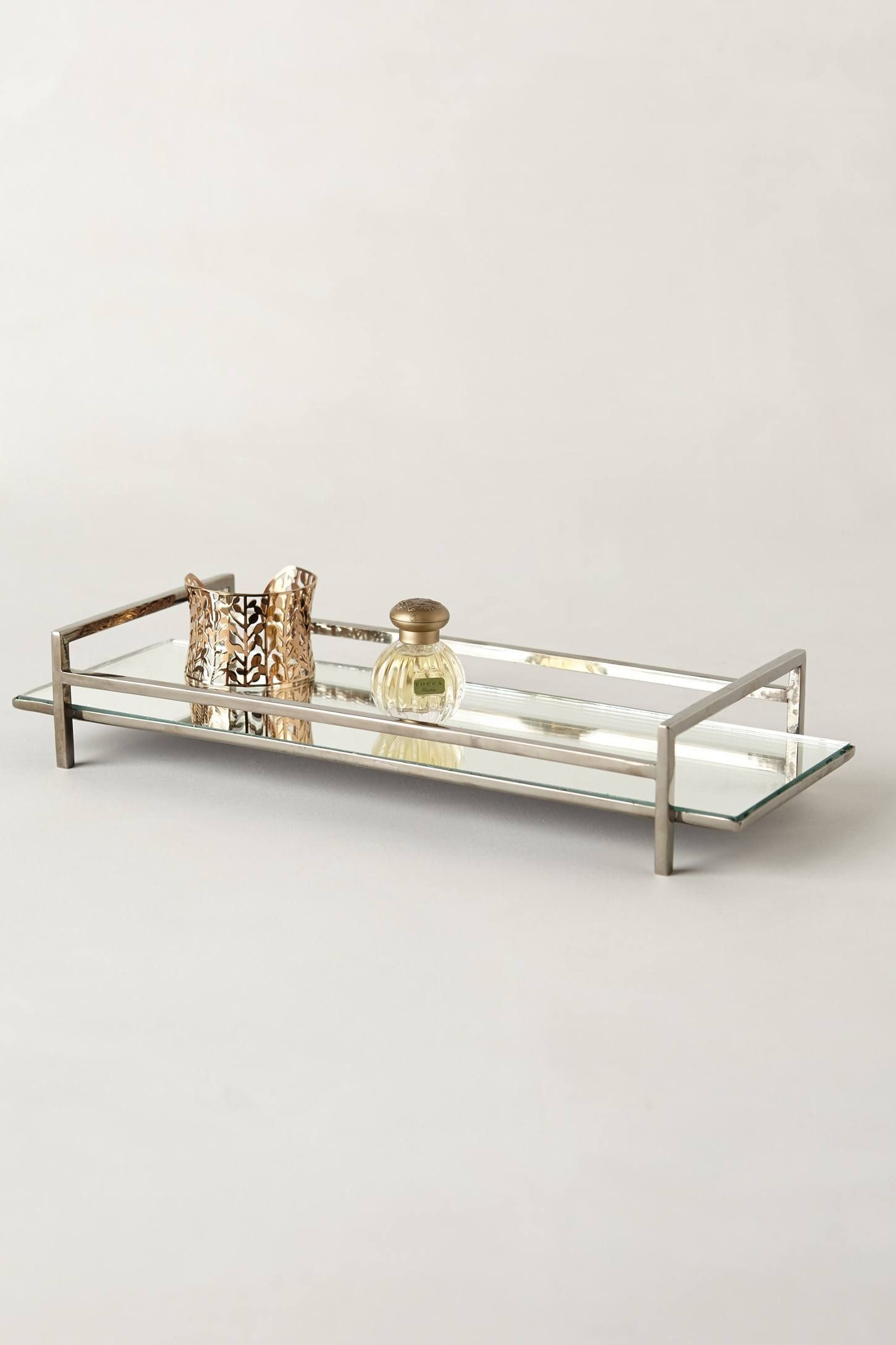 sizing glamour to on x regard modern mirrored tray vanity decoration with mirror home crystal