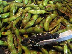 Lisa Cooks: Spicy Chili-Fried Edamame