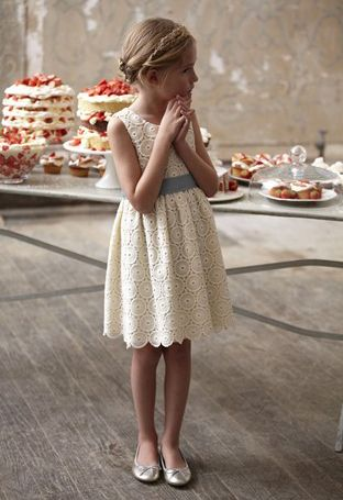 Boden flower girl dress. But we want to know: does it come in big girl sizes?