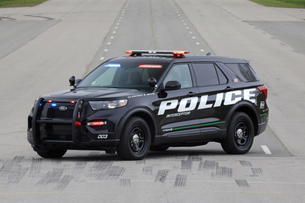 2020 Ford Interceptor Utility Hybrid Ford Police Police Cars