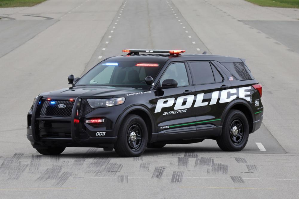 2020 Ford Interceptor Utility Hybrid Ford Police Police Cars
