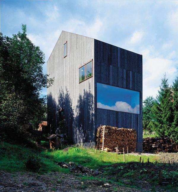 pingl par mnm architectes sur archi pinterest maison maison bois et batiment. Black Bedroom Furniture Sets. Home Design Ideas