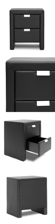 Best Nightstands 38199 Nightstand Modern Upholstered Table 400 x 300