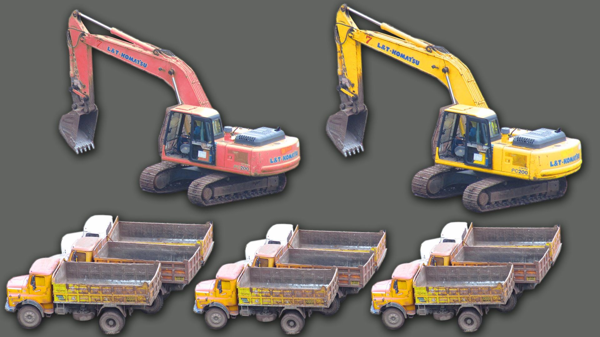 construction vehicles truck videos for kids heavy equipment