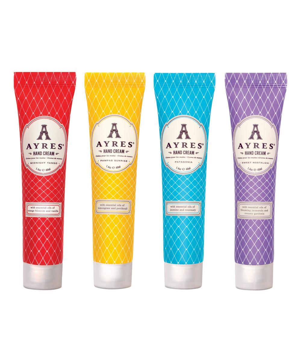 Four-Piece Collection Hand Cream Set