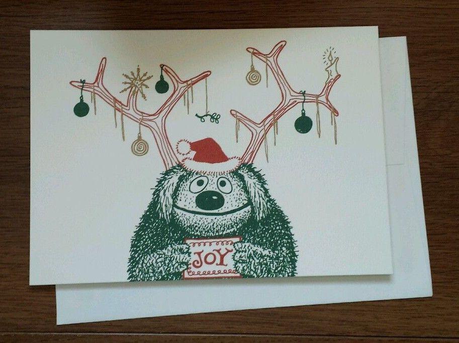 Very Rare Muppet Jim Henson Legacy Christmas cards - Rowlf the Dog ...