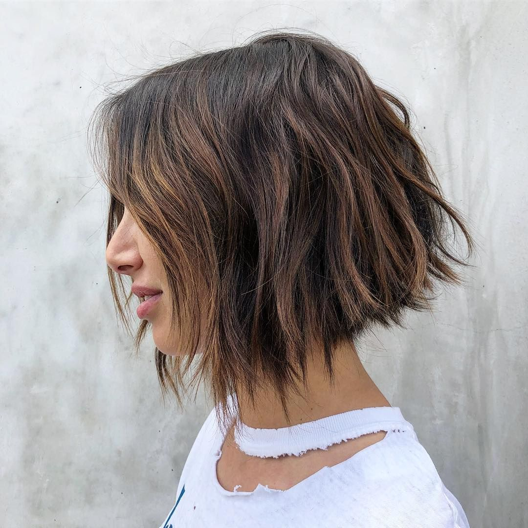 31+ Low maintenance shoulder length haircuts for thick hair ideas