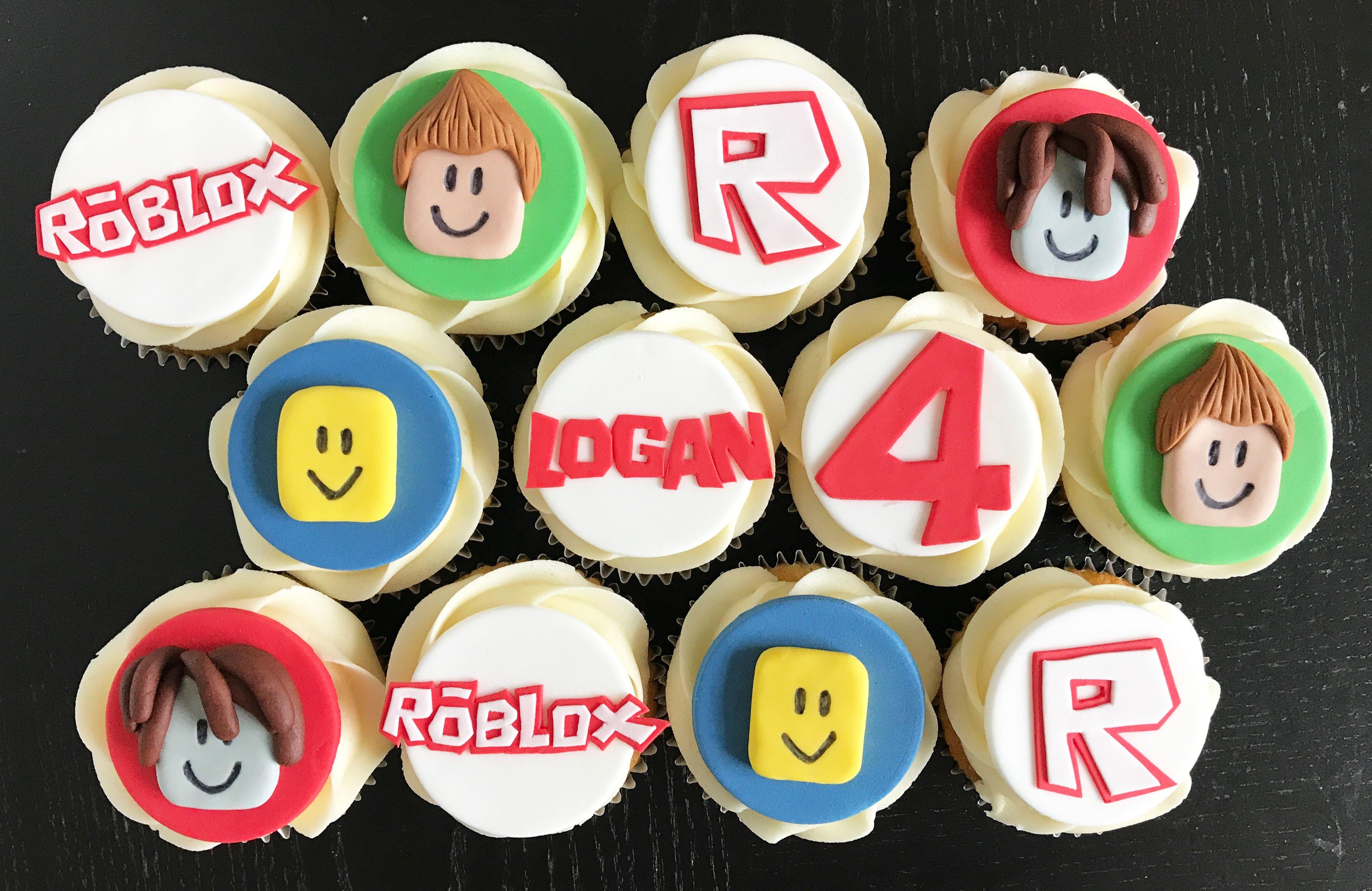 Roblox Cupcakes Decoracion Fiesta Cumpleanos Fiesta Cumpleanos