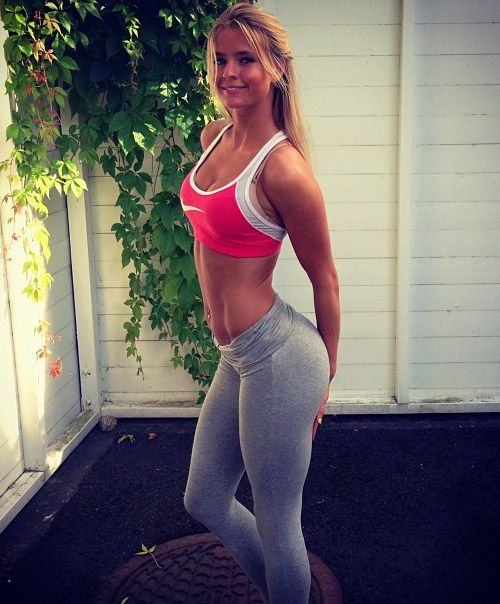 Hot  Sexy Norwegian Girls From Norway Pictures  Sexy Norwegian Girls  Yoga Pants -8445