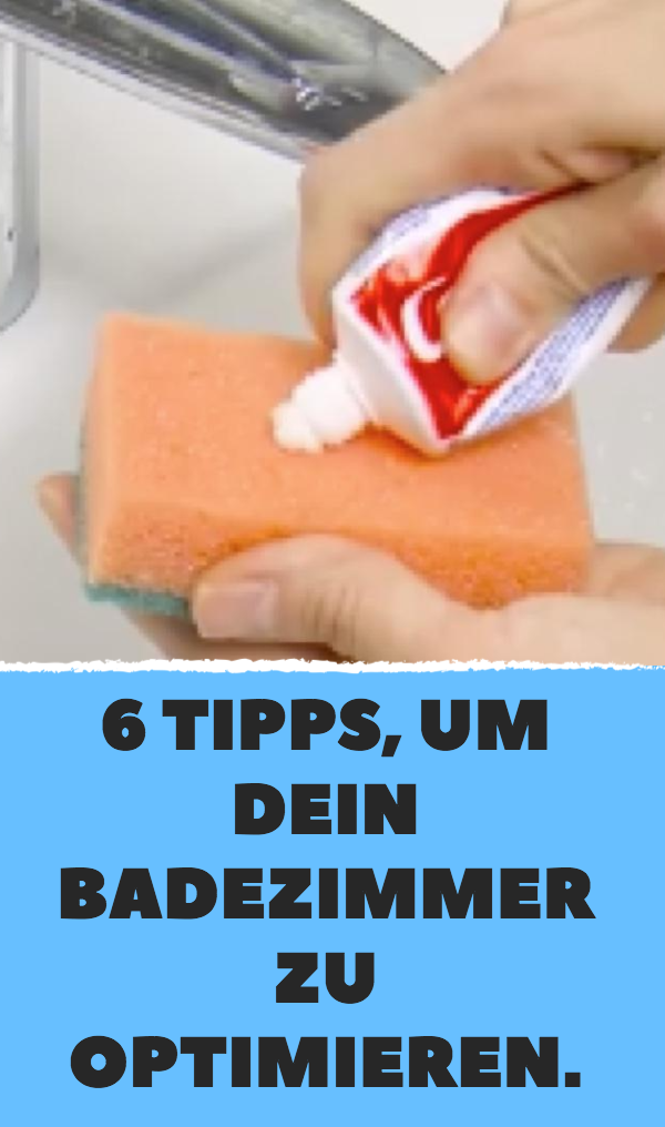 6 tipps um dein badezimmer zu optimieren badezimmer putzen tipps schnell putzen tipps. Black Bedroom Furniture Sets. Home Design Ideas