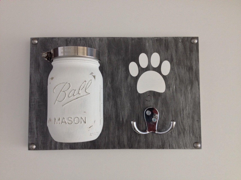 Personalised Dog Lead Holder By Mij Moj Design