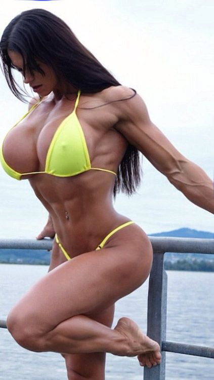 muskulose nackte frauen