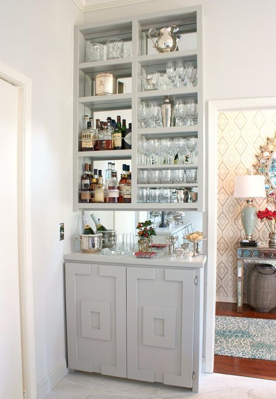 Lovely Home Bar Ideas Small Spaces
