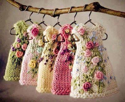 LIFE -World- Creativity - embroidery dresses knitting dolls - amazing!