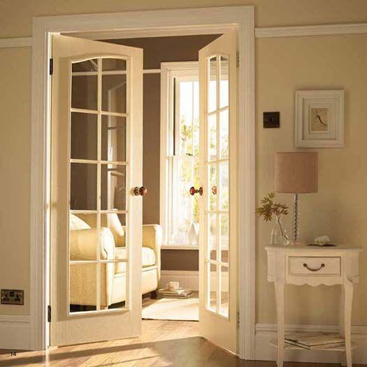 Indoor French Doors - separate bedroom room from living ...