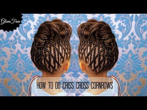 How To Do Criss Cross Braids Braided Hairstyles You Easy Braid Pinterest