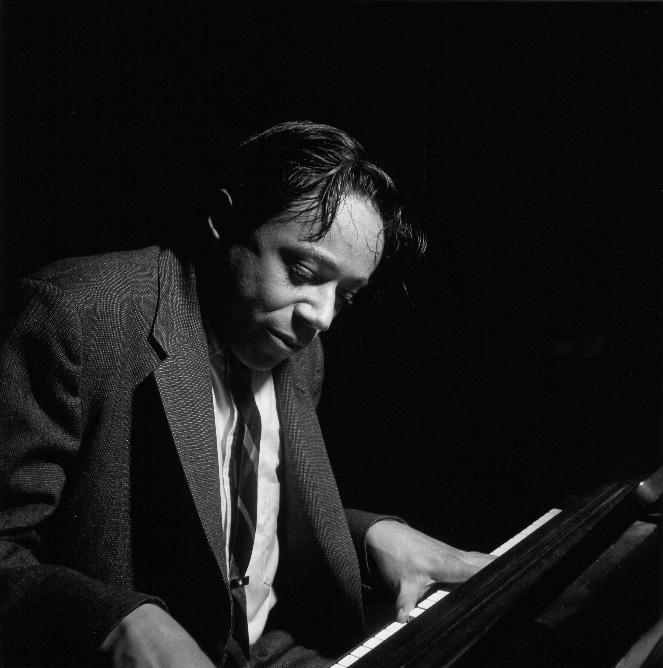 """This month's iTunes.com/BlueNote spotlight honors the late, great Horace Silver. Explore the pianist's extensive Blue Note catalog & d/l the free podcast """"Now Hear This"""" with host Don Was leading a tour across Horace's illustrious career at http://itunes.com/bluenote."""