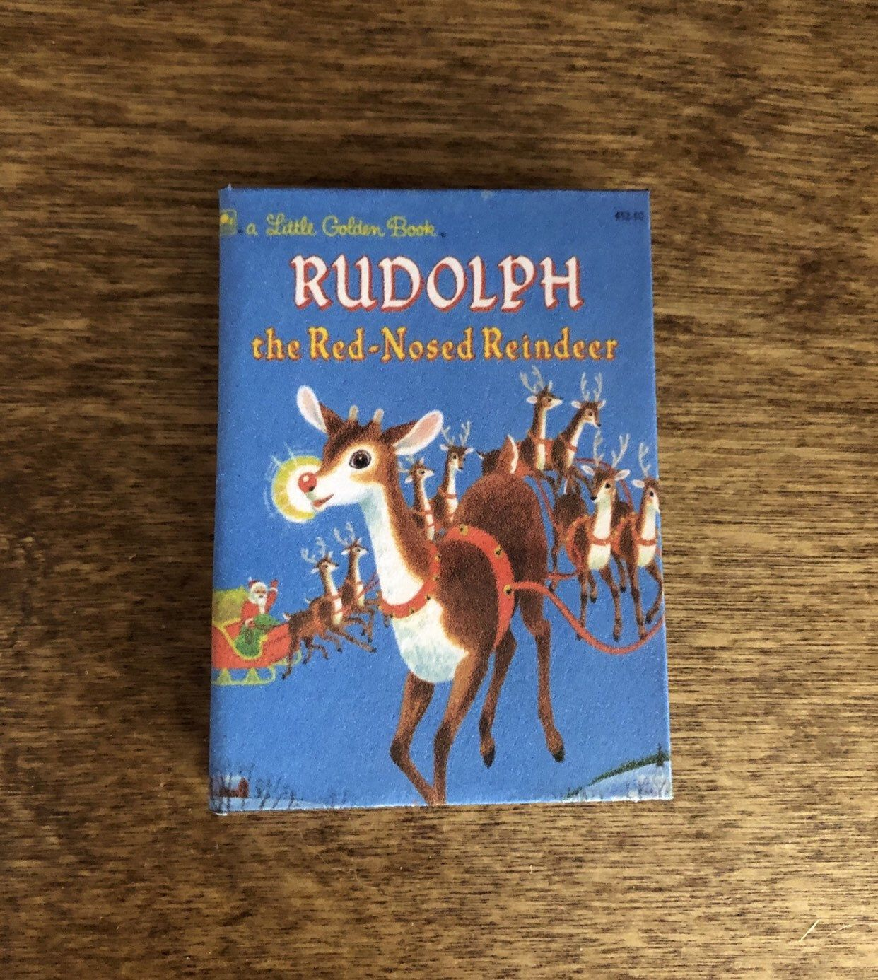 RUDOLPH THE RED NOSED REINDEER Book 1:3 Scale Readable American Girl Doll