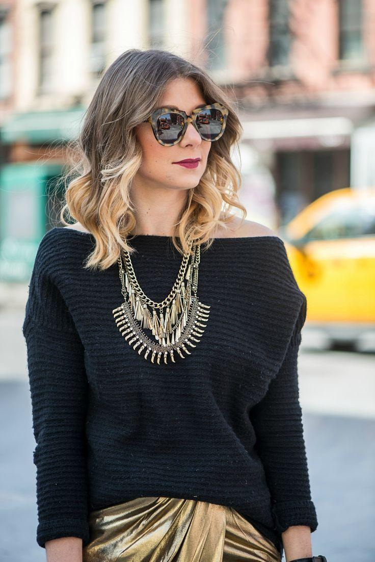 http://www.madlymignon.com/home/2015/3/1/nyfw-ootd-golden-girl-trend-wrap-skirt-chunky-sweater